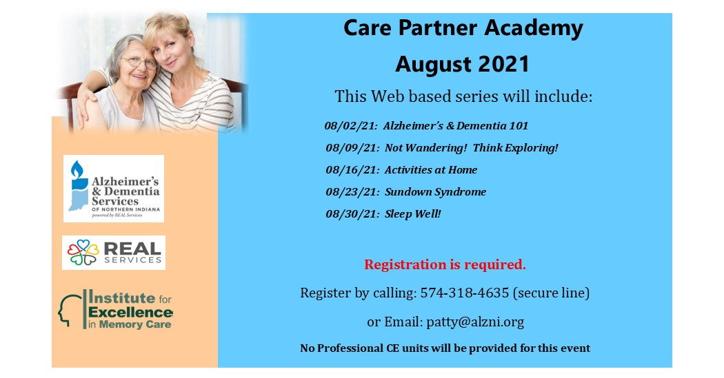 """Featured image for """"August Care Partner Academy"""""""