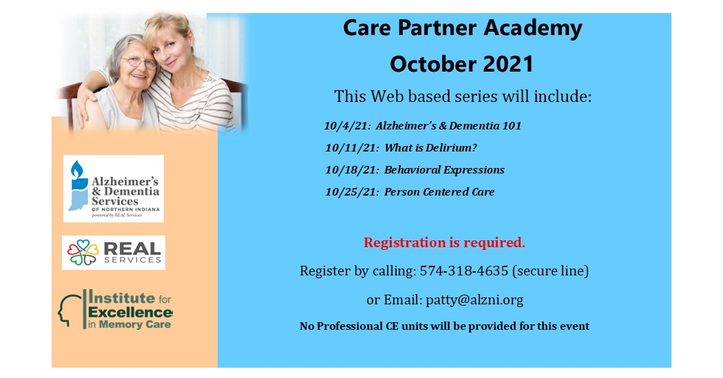 """Featured image for """"October Care Partner Academy"""""""