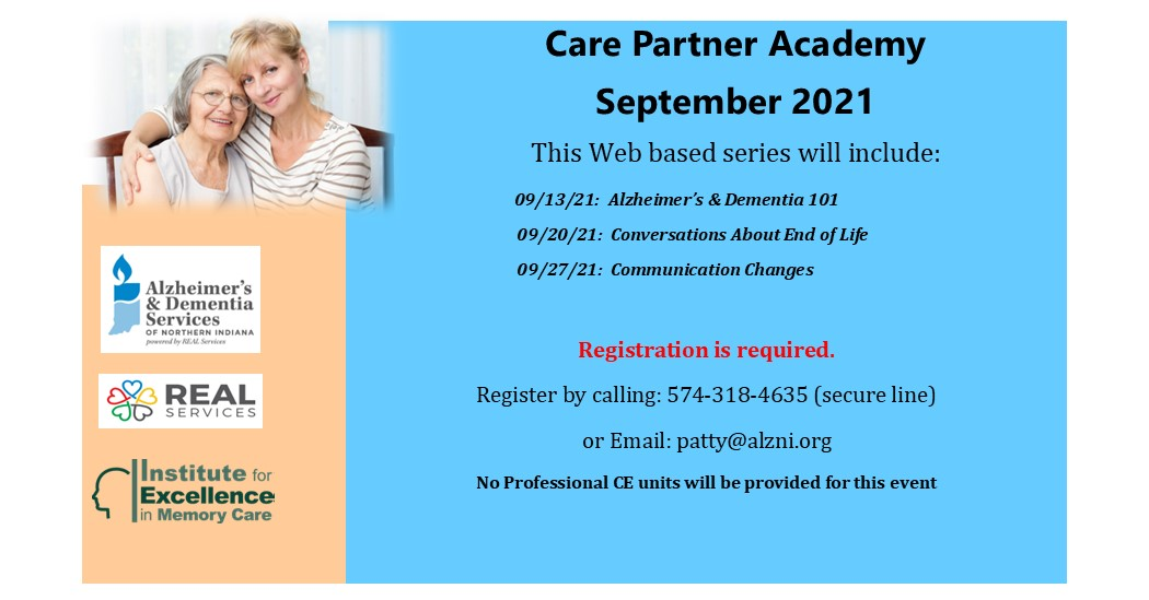 """Featured image for """"September Care Partner Academy"""""""
